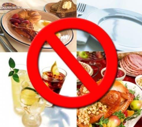 что исключить из питания чтобы похудеть список
